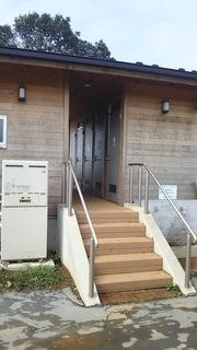 温水シャワールーム建屋