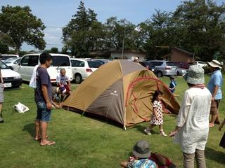 親子で楽しむキャンプ講習会